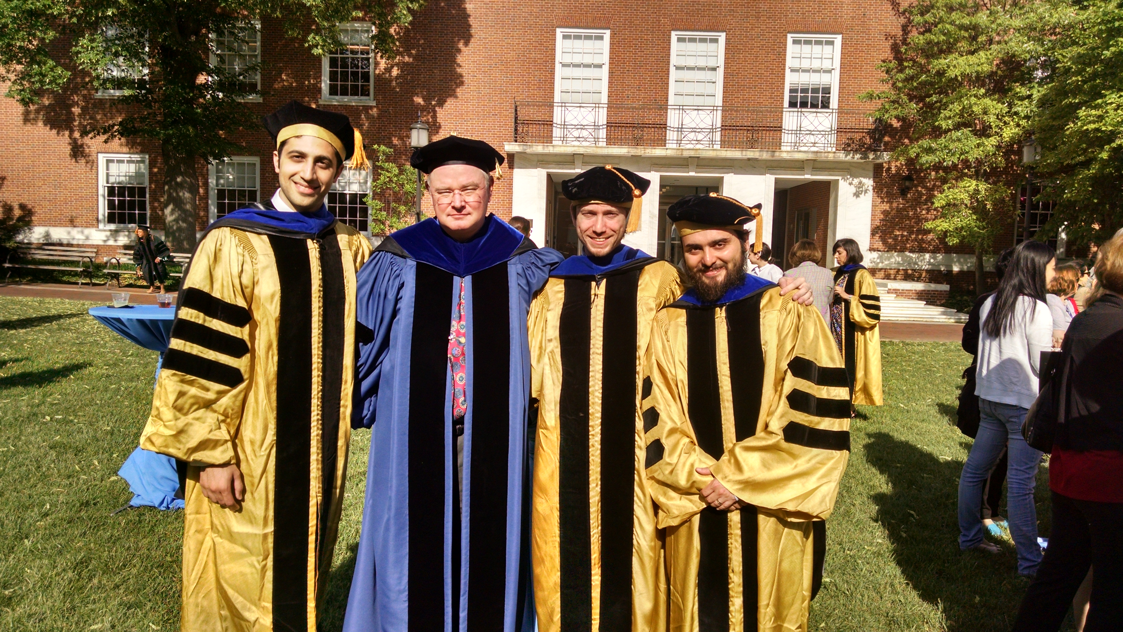 Prof. Whitcomb (Uncle Louie) steps in and hoods our three most ...